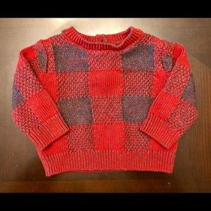 Gymboree plaid sweater